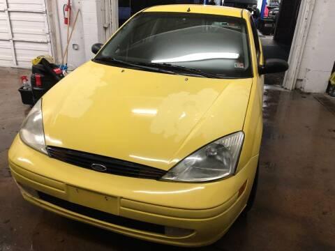 2002 Ford Focus for sale at REGIONAL AUTO CENTER in Fredericksburg VA
