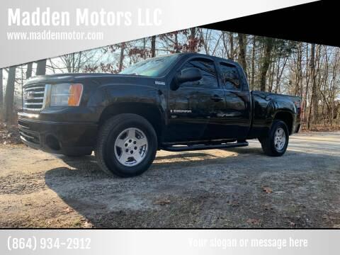 2009 GMC Sierra 1500 for sale at Madden Motors LLC in Iva SC
