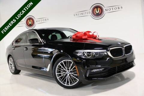 2018 BMW 5 Series for sale at Unlimited Motors in Fishers IN