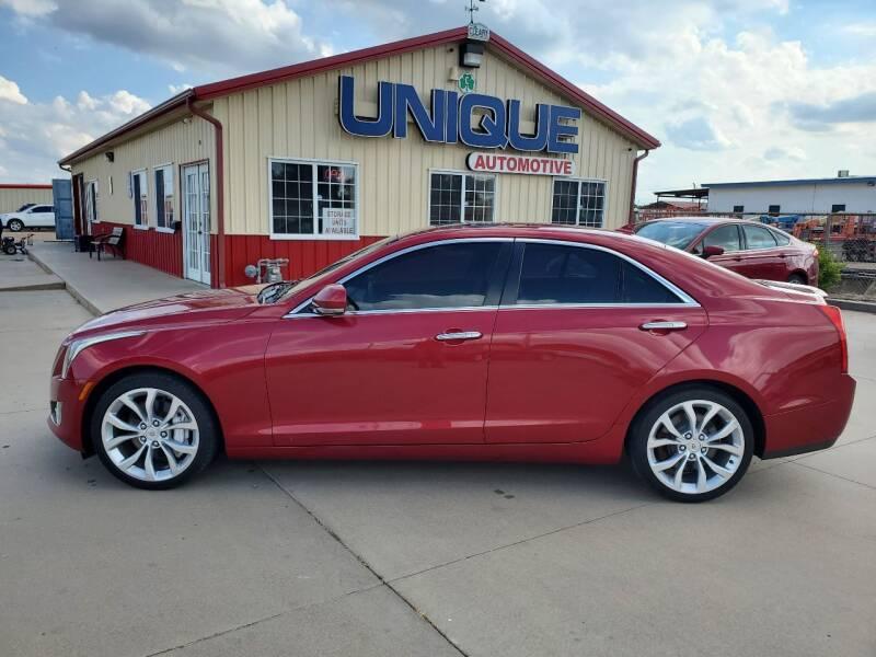 "2013 Cadillac ATS for sale at UNIQUE AUTOMOTIVE ""BE UNIQUE"" in Garden City KS"