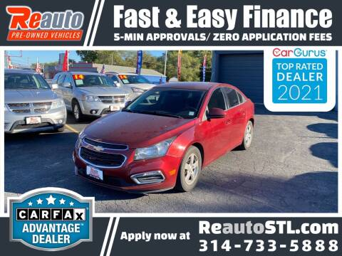 2015 Chevrolet Cruze for sale at Reauto in Saint Louis MO