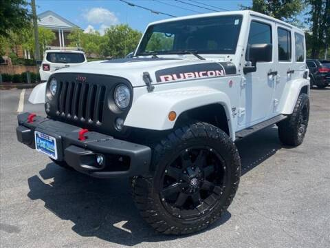 2017 Jeep Wrangler Unlimited for sale at iDeal Auto in Raleigh NC
