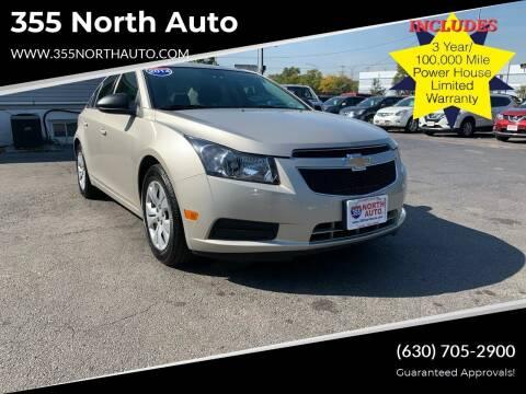 2014 Chevrolet Cruze for sale at 355 North Auto in Lombard IL