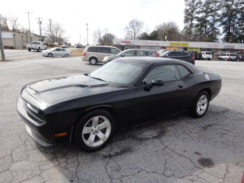 2013 Dodge Challenger for sale at HAPPY TRAILS AUTO SALES LLC in Taylors SC