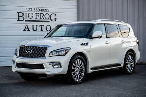 2016 Infiniti QX80 for sale at Big Frog Auto in Cleveland TN