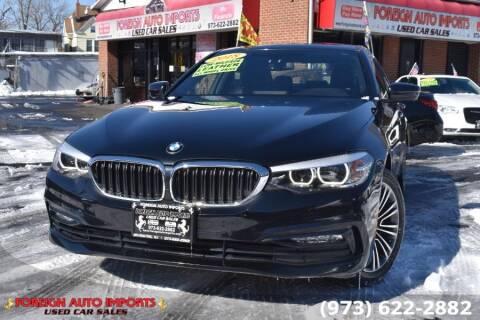 2018 BMW 5 Series for sale at www.onlycarsnj.net in Irvington NJ