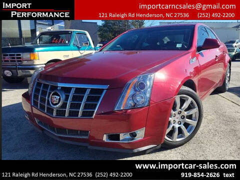 2008 Cadillac CTS for sale at Import Performance Sales - Henderson in Henderson NC