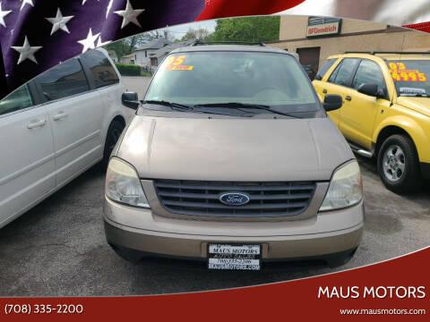 2005 Ford Freestar for sale at MAUS MOTORS in Hazel Crest IL