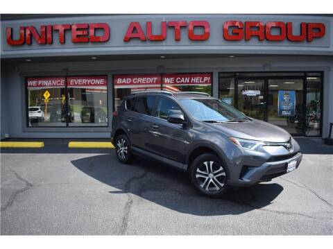 2017 Toyota RAV4 for sale at United Auto Group in Putnam CT