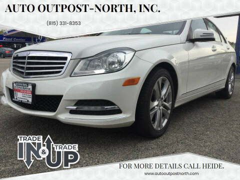 2012 Mercedes-Benz C-Class for sale at Auto Outpost-North, Inc. in McHenry IL