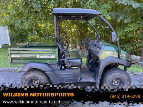 2020 Kawasaki Mule 400 SX FI 4X4 for sale at WILKINS MOTORSPORTS in Brewster NY