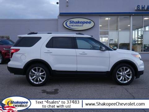 2013 Ford Explorer for sale at SHAKOPEE CHEVROLET in Shakopee MN