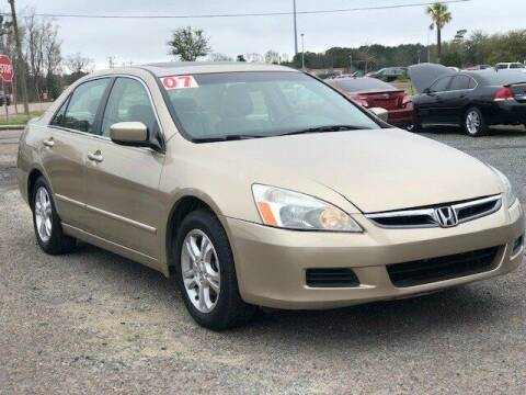 2007 Honda Accord for sale at Harry's Auto Sales, LLC in Goose Creek SC