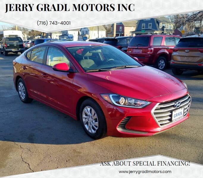 2017 Hyundai Elantra for sale at JERRY GRADL MOTORS INC in North Tonawanda NY