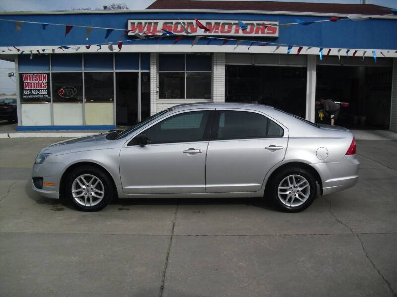 2011 Ford Fusion for sale at Wilson Motors in Junction City KS