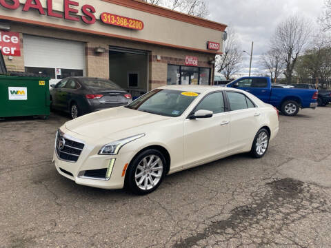 2014 Cadillac CTS for sale at KING AUTO SALES  II in Detroit MI