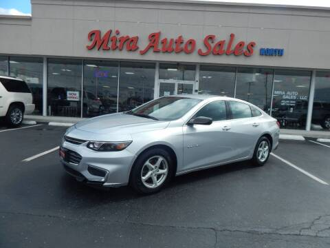 2016 Chevrolet Malibu for sale at Mira Auto Sales in Dayton OH
