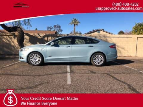 2013 Ford Fusion Energi for sale at UR APPROVED AUTO SALES LLC in Tempe AZ