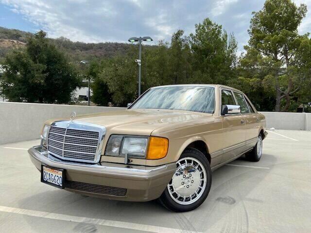 1986 Mercedes-Benz 420-Class for sale at Allen Motors, Inc. in Thousand Oaks CA