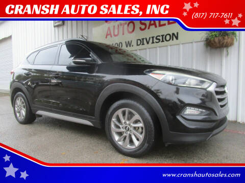 2017 Hyundai Tucson for sale at CRANSH AUTO SALES, INC in Arlington TX