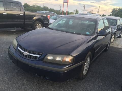 2001 Chevrolet Impala for sale at Ram Auto Sales in Gettysburg PA