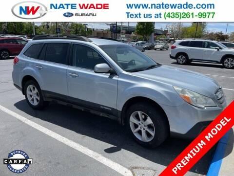 2013 Subaru Outback for sale at NATE WADE SUBARU in Salt Lake City UT