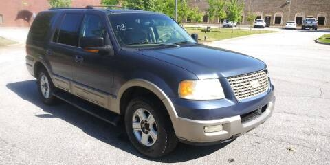 2003 Ford Expedition for sale at Georgia Fine Motors Inc. in Buford GA