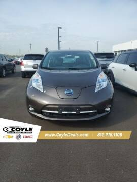 2016 Nissan LEAF for sale at COYLE GM - COYLE NISSAN - New Inventory in Clarksville IN