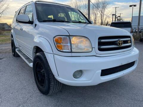 2003 Toyota Sequoia for sale at Supreme Auto Gallery LLC in Kansas City MO
