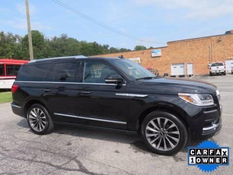 2020 Lincoln Navigator for sale at DUNCAN SUZUKI in Pulaski VA