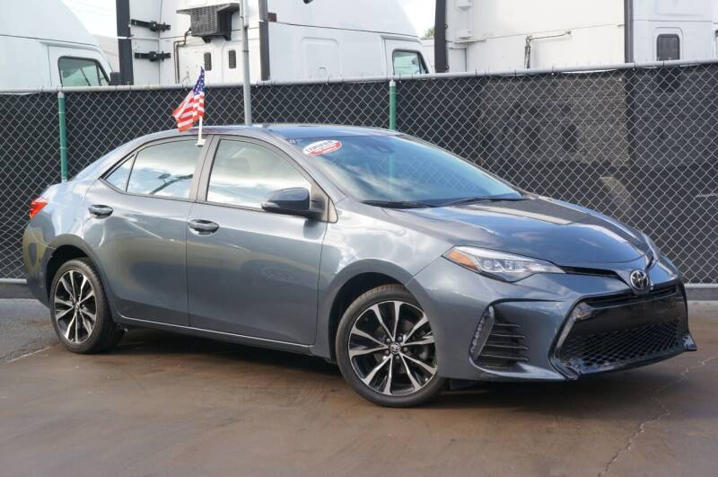 2018 Toyota Corolla for sale at MATRIX AUTO SALES INC in Miami FL
