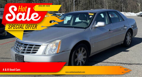 2008 Cadillac DTS for sale at A & R Used Cars in Clayton NJ