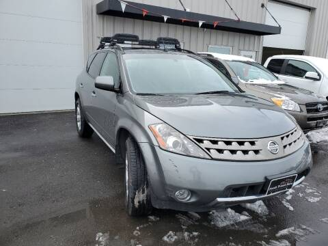 2007 Nissan Murano for sale at FRESH TREAD AUTO LLC in Springville UT