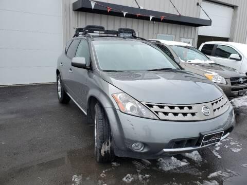 2007 Nissan Murano for sale at FRESH TREAD AUTO LLC in Springville UT