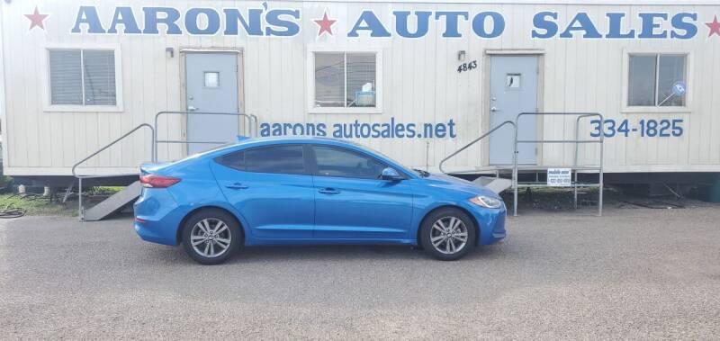 2018 Hyundai Elantra for sale at Aaron's Auto Sales in Corpus Christi TX