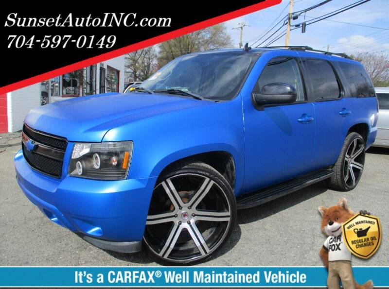 2007 Chevrolet Tahoe for sale at Sunset Auto in Charlotte NC