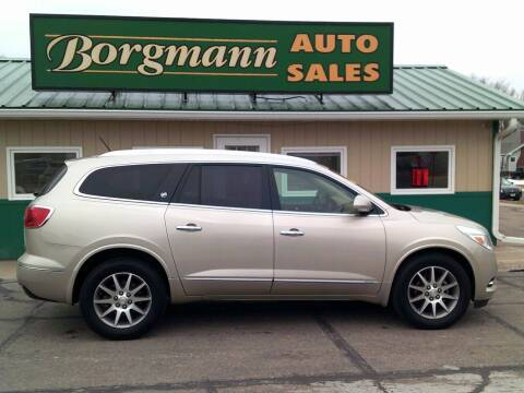 2015 Buick Enclave for sale at Borgmann Auto Sales in Norfolk NE