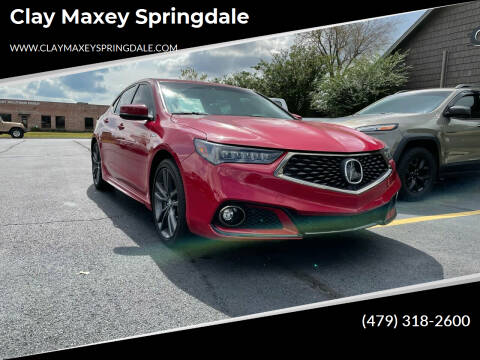 2019 Acura TLX for sale at Clay Maxey Springdale in Springdale AR