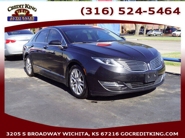 2015 Lincoln MKZ for sale at Credit King Auto Sales in Wichita KS