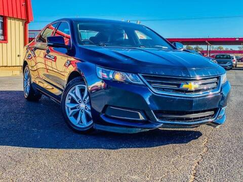 2017 Chevrolet Impala for sale at MAGNA CUM LAUDE AUTO COMPANY in Lubbock TX
