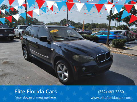 2009 BMW X5 for sale at Elite Florida Cars in Tavares FL