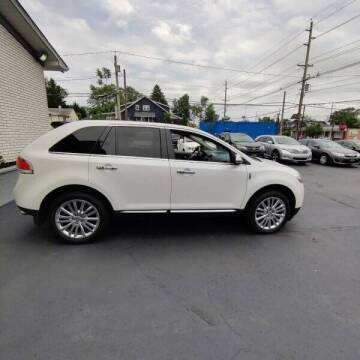 2013 Lincoln MKX for sale at 599 Drives in Runnemede NJ