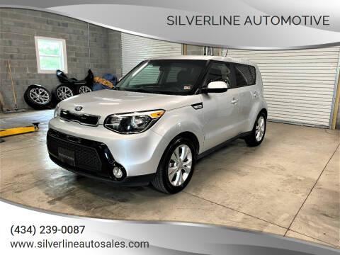 2016 Kia Soul for sale at Silverline Automotive in Lynchburg VA