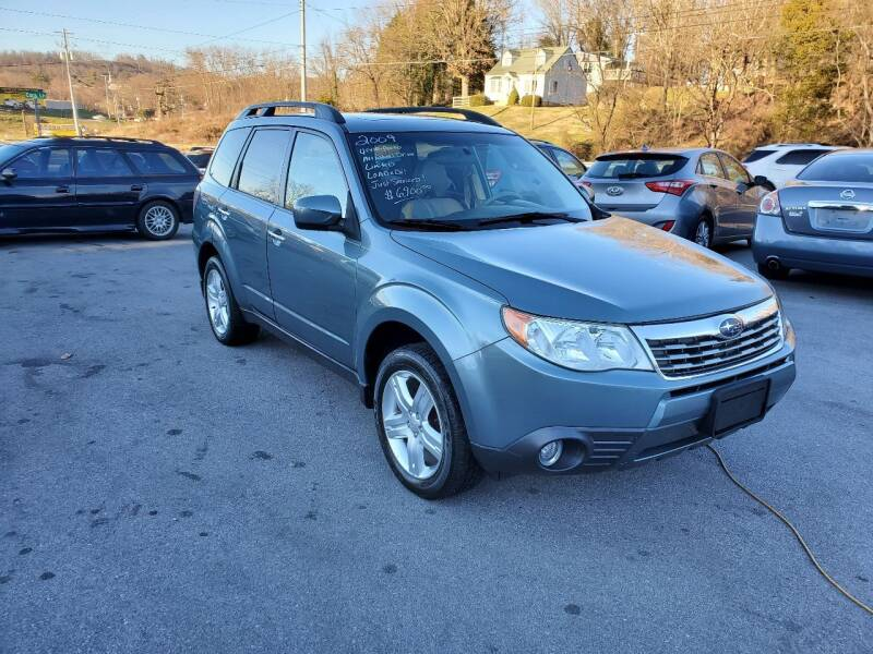 2009 Subaru Forester for sale at DISCOUNT AUTO SALES in Johnson City TN