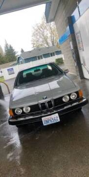 1977 BMW 6 Series for sale at Classic Car Deals in Cadillac MI