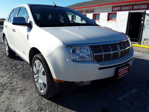 2008 Lincoln MKX for sale at Sarpy County Motors in Springfield NE
