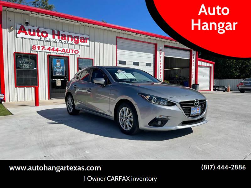 2016 Mazda MAZDA3 for sale at Auto Hangar in Azle TX