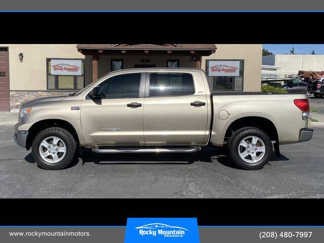 2007 Toyota Tundra for sale at Rocky Mountain Motors in Idaho Falls ID