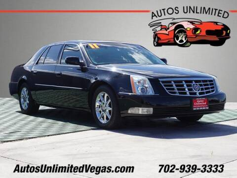 2011 Cadillac DTS Pro for sale at Autos Unlimited in Las Vegas NV