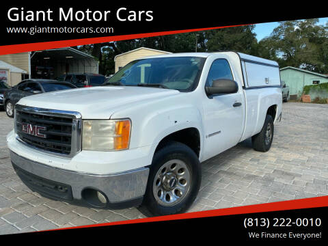 2008 GMC Sierra 1500 for sale at Giant Motor Cars in Tampa FL